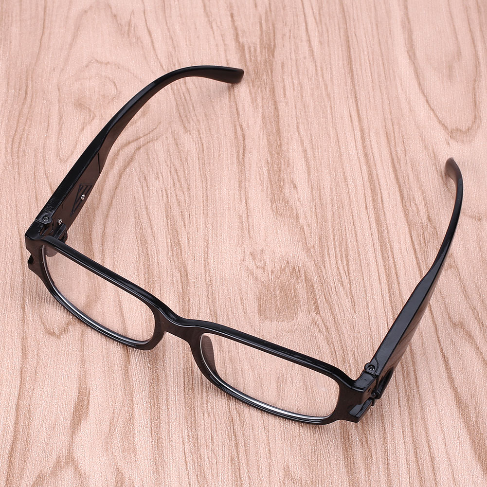 7FA1 Glasses Eyeglass Reading Eye Glasses LED Reding Glasses LED Glasses