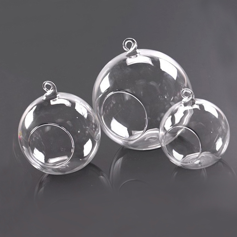 D583-Fashion-Clear-Glass-Round-Hanging-Candle-Light-Holder-Candlestick-6-12CM