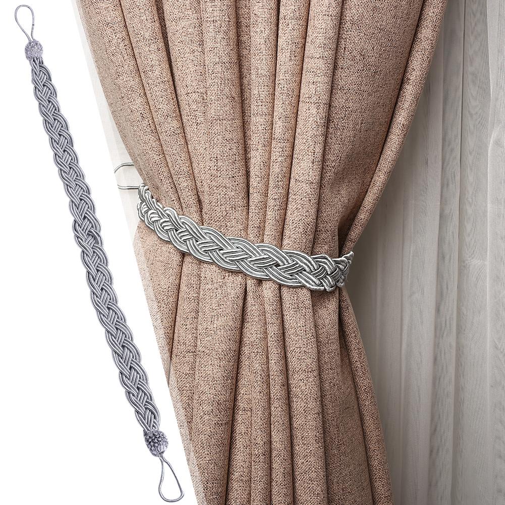 Braided Satin Rope Curtain Tie Back Tiebacks Holdbacks