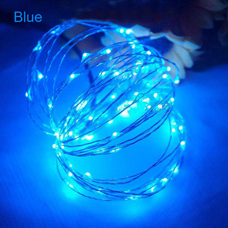 20-50-100-LEDs-Battery-Operated-Mini-LED-Copper-Wire-String-Fairy-Lights-10M thumbnail 9