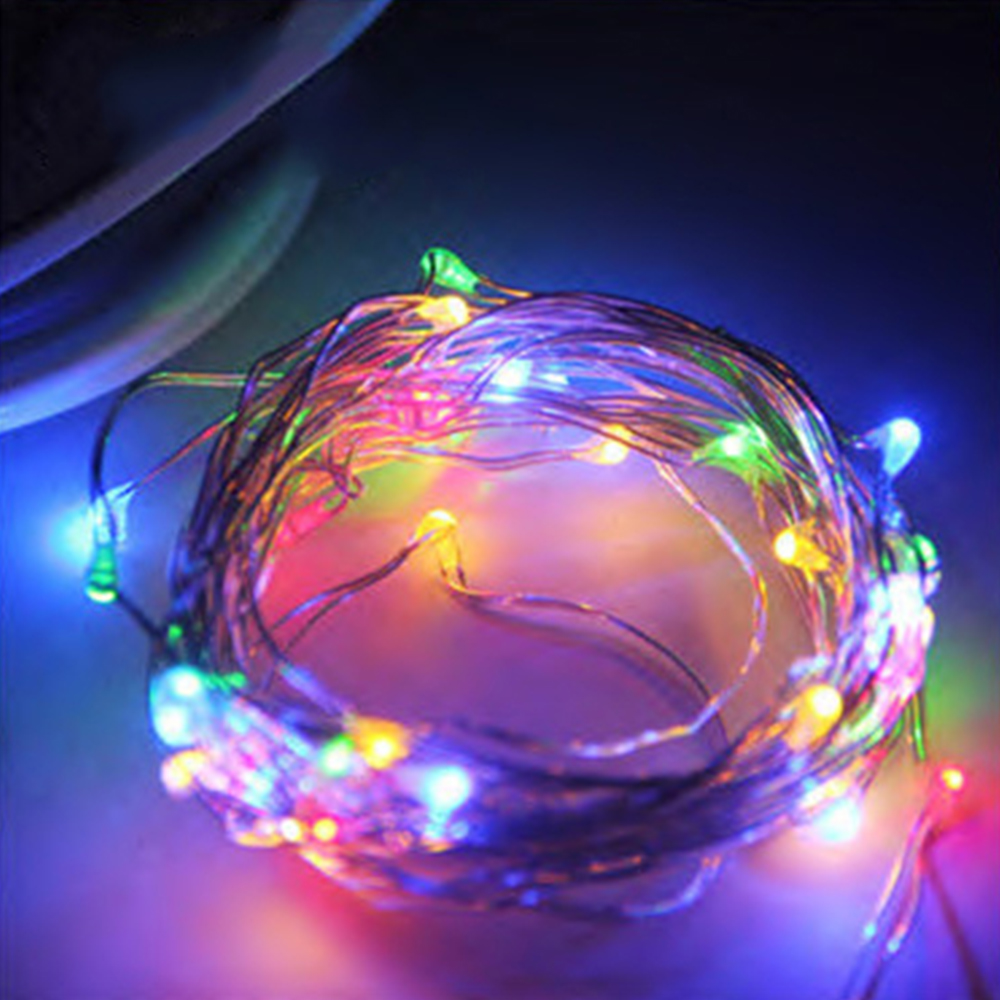 20-50-100-LEDs-Battery-Operated-Mini-LED-Copper-Wire-String-Fairy-Lights-10M thumbnail 11