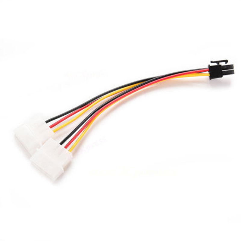 4PIN-To-6PIN-PCI-Express-PCI-E-Graphics-Power-Adapter-Cable-Lead-Line-Connector