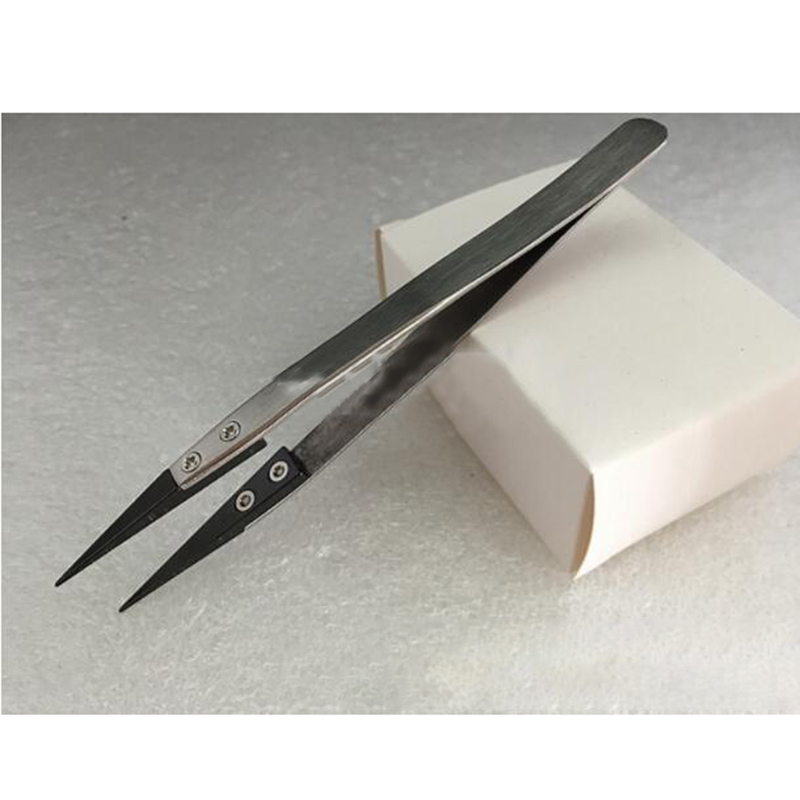 A1E2-High-Temperature-Resistant-Ceramic-Tweezers-Resistant-Acid-DIY-Home-Garden
