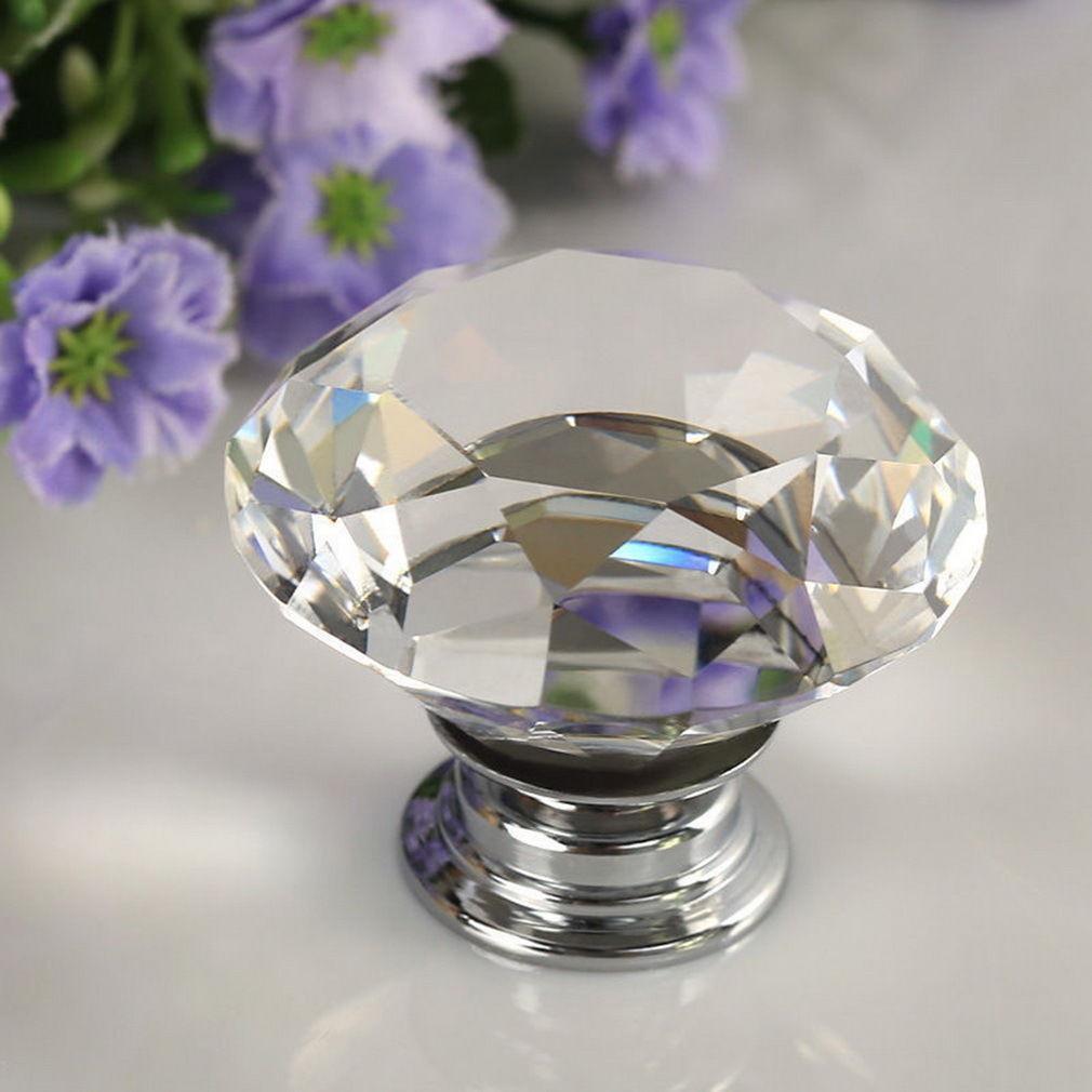 C9D1-1-4-8PCS-30mm-Crystal-Diamond-Glass-Pull-Handle-Drawer-Cupboard-Door-Knob