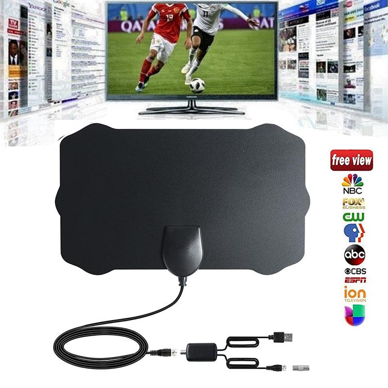 100 mile range antenna tv digital hd skywire 4k antena digital indoor hdtv 1080p ebay. Black Bedroom Furniture Sets. Home Design Ideas