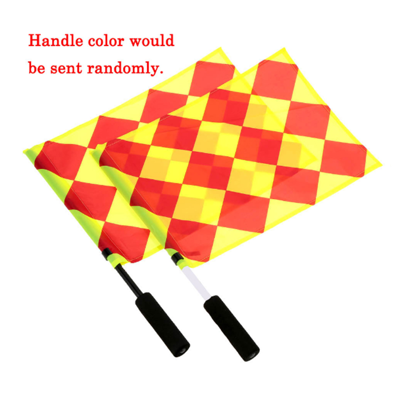 The World Cup Soccer Referee Flag Match Football Competition Equipment 63BF